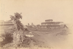 General view from the south-east of the Narendra Matha, Bhubaneshwar